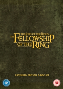 The Lord of the Rings: The Fellowship of the Ring - Extended Cut, DVD DVD