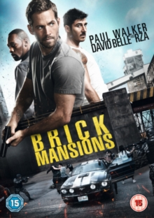 Brick Mansions, DVD  DVD