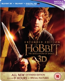 The Hobbit: The Desolation of Smaug - Extended Edition, Blu-ray BluRay