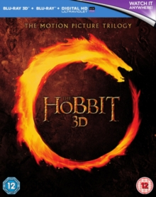 Hobbit: Trilogy, Blu-ray BluRay