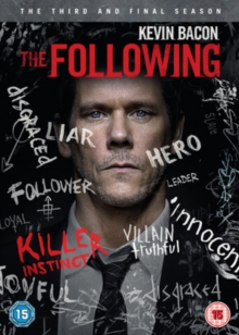 The Following: The Third and Final Season, DVD DVD