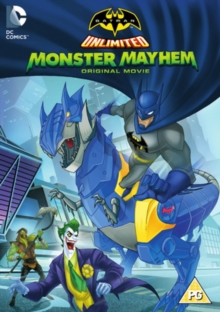 Batman Unlimited: Monster Mayhem, DVD  DVD