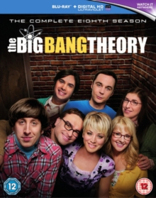 The Big Bang Theory: The Complete Eighth Season, Blu-ray BluRay