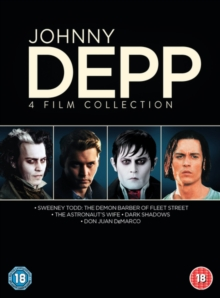 Johnny Depp Collection, DVD  DVD