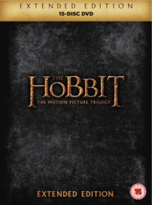 The Hobbit: Trilogy - Extended Edition, DVD DVD