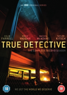 True Detective: The Complete Second Season, DVD DVD