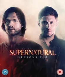 Supernatural: Seasons 1-10, DVD DVD