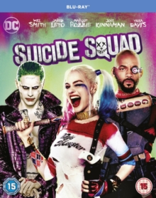 Suicide Squad, Blu-ray BluRay