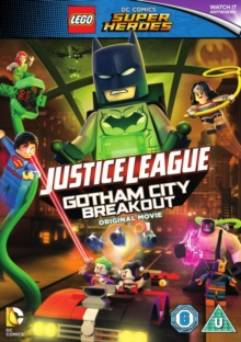 LEGO: Justice League - Gotham City Breakout, DVD DVD