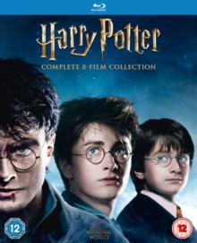 Harry Potter: Complete 8-film Collection, Blu-ray BluRay