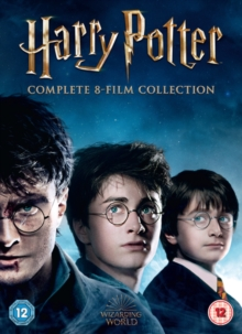 Harry Potter: The Complete 8-film Collection, DVD DVD