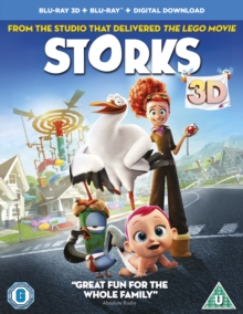 Storks, Blu-ray BluRay
