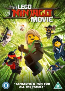 The Lego Ninjago Movie, DVD DVD