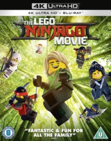 The Lego Ninjago Movie, Blu-ray BluRay