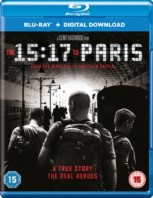The 15:17 to Paris, Blu-ray BluRay