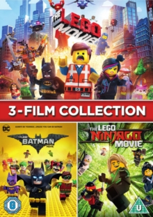 Lego 3-film Collection, DVD DVD