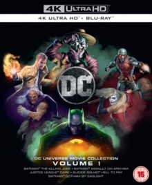 DC Animated Film Collection: Volume 1, Blu-ray BluRay