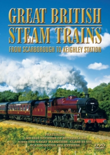 Great British Steam Trains: From Scarborough to Keighley Station, DVD  DVD