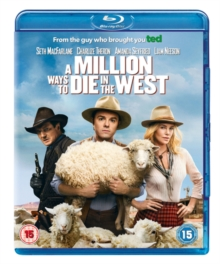A   Million Ways to Die in the West, Blu-ray BluRay