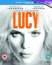 Lucy, Blu-ray  BluRay