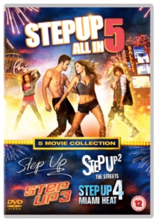 Step Up 1-5, DVD  DVD