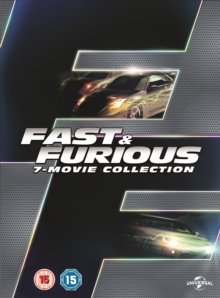 Fast & Furious: 7-movie Collection, DVD DVD