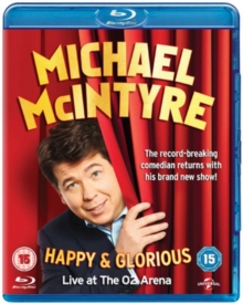 Michael McIntyre: Happy and Glorious, Blu-ray  BluRay