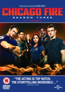 Chicago Fire: Season Three, DVD DVD