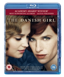 The Danish Girl, Blu-ray DVD