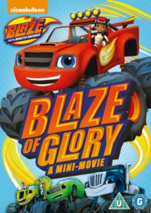 Blaze and the Monster Machines: Blaze of Glory, DVD DVD