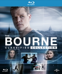 The Bourne Classified Collection, Blu-ray BluRay