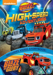 Blaze and the Monster Machines: High Speed Adventures, DVD DVD