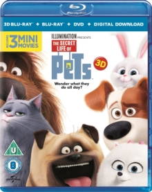 The Secret Life of Pets, Blu-ray BluRay