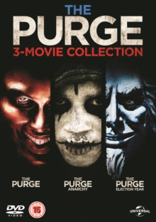 The Purge: 3-movie Collection, DVD DVD