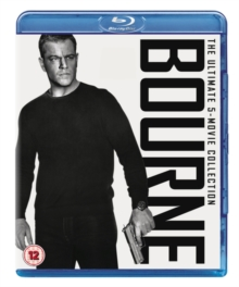 Bourne: The Ultimate 5-movie Collection, Blu-ray BluRay