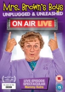 Mrs Brown's Boys: Unplugged and Unleashed - On Air Live, DVD DVD