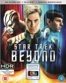 Star Trek Beyond, Blu-ray BluRay