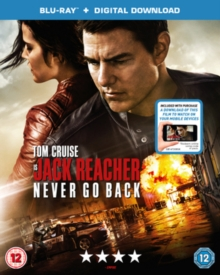 Jack Reacher - Never Go Back, Blu-ray BluRay