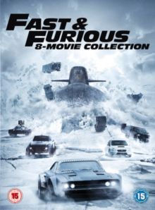 Fast & Furious: 8-movie Collection, DVD DVD