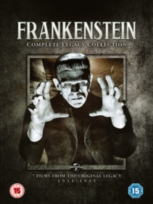 Frankenstein: Complete Legacy Collection, DVD DVD