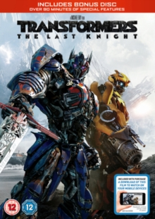 Transformers - The Last Knight, DVD DVD