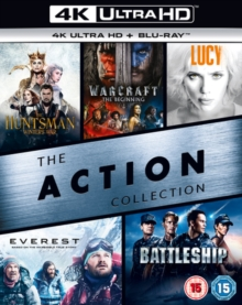 The Action Collection, Blu-ray BluRay