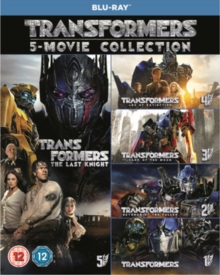 Transformers: 5-movie Collection, Blu-ray BluRay