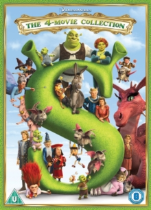 Shrek: The 4-movie Collection, DVD DVD
