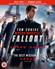 Mission: Impossible - Fallout, Blu-ray BluRay