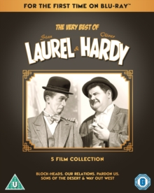 The Very Best of Laurel & Hardy: 5 Film Collection, Blu-ray BluRay