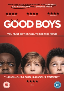 Good Boys, DVD DVD