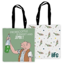 BIG FRIENDLY GIANT EDGE TO EDGE TOTE BAG,  Book