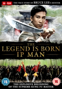 The Legend Is Born - Ip Man, DVD DVD