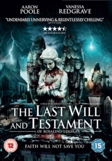 The Last Will and Testament of Rosalind Leigh, DVD DVD
